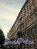 Четная сторона Мелитопольского переулка от Кирочной улицы к Фурштатской улице. Фото 2008 г.