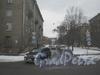 Перспектива Огородного переулка от ул. Маршала Говорова в сторону пр. Стачек. Фото февраль 2012 г.