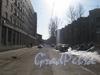 Перспектива Лермонтовского переулка от Балтийской ул. Фото март 2012 г.