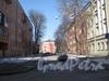 Перспектива Сивкова переулка от Балтийской ул. Фото март 2012 г.