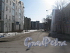 Перспектива Майкова пер. от Балтийской ул. в сторону ул. Швецова. Фото март 2012 г.