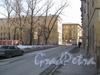 Перспектива Молодёжного пер. в сторону Балтийской ул. от дома 5 по ул. Метростроевцев. Фото март 2012 г.