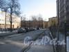 Перспектива Молодёжного пер. от ул. Метростроевцев в сторону Балтийской ул. Фото март 2012 г.