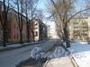 Перспектива Сивкова пер. от дома 12 по Тракторной ул. (слева) в сторону ул. Ивана Черных. Фото март 2012 г.