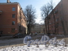 Сивков переулок от Тракторной ул. в сторону Балтийской ул. Фото март 2012 г.