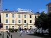 Шведский пер., д. 2, лит. В. Фрагмент фасада. Вид от Малой Конюшенной улицы. Фото август 2011 г.