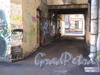 Большой Казачий переулок, дом 9. Один из дворов. Фото март 2012 г.