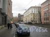 Советский переулок. Перспектива от 4 Красноармейской ул. в сторону 7 Красноармейской ул. Фото март 2012 г.