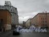 Советский пер, дом 10 (слева). Перспектива в сторону 7-ой Красноармейской ул. Фото март 2012 г.