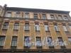 Советский пер., дом 8 (правая часть). Общий вид с Советского переулка на верхнюю часть здания. Фото март 2012 г.