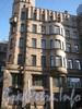 Большой Казачий переулок, дом 4. Часть фасада дома с Бол. Казачьего пер. Фото март 2012 г.