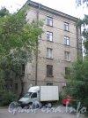 Железнодорожный пер., дом 7. Торец жилого дома. Фото сентябрь 2011 года.