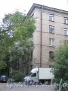 Железнодорожный пер., дом 7. Угол жилого дома. Фото сентябрь 2011 года.