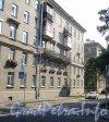 Карельский пер., дом 11 / наб. Черной Речки, дом 16. Фасад по Карельскому переулку. Фото август 2011 года.