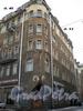 Большой Казачий пер., д. 13/Загородный пр., д. 45, фрагмент фасада здания. Фото 2008 г.