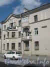 Тургеневский пер., дом 3. Фрагмент фасада дома. Фото 25 июня 2012 г.