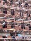 Зоологический пер., дом 2-4. Строительство нового жилого дома. Вид со стороны пр. Добролюбова. Фото сентябрь 2011 г.