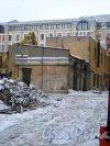 Иностранный пер., дом 6. / наб. Лейтенанта Шмидта, дом 21. Вид со стороны набережной Лейтенанта Шмидта. Фото 31 января 2013 года.