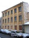 Иностранный пер., дом 6. Вид со стороны 14-й линии В.О. Фото январь 2013 г.