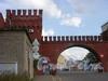 Въезд на станцию Московская товарная. Фото 2005 г.