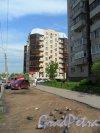 Земский переулок, дом 11. Современный кирпичный дом бизнес-класса. Фото 19 мая 2013 г.