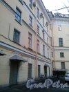 Торговый переулок, дом 2а. Двор здания.