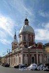 Соляной пер., д. 17. Пантелеймоновская церковь. Восточный фасад. Фото июнь 2012 г.