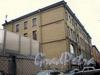Фонарный пер., д. 4. Вид на фасад с торца здания. Октябрь 2008 г.