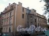 Музыкантский пер., д. 1. Фасады здания по Музыкантскому пер. и  Мал. Гребецкой ул. Октябрь 2008 г.