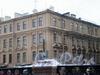 Пер. Сергея Тюленина, д. 3 / наб. канала Грибоедова, д. 25. Общий вид здания. Февраль 2009 г.