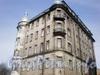 Таврический пер., д. 1-3. Общий вид здания на углу Таврической ул. и Таврического пер. Вид с улицы.  Апрель 2009 г.