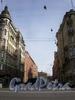 Перспектива Заячьего переулка от Суворовского проспекта в сторону Дегтярного переулка. Фото апрель 2009 г.