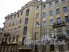 Заячий пер., д. 1/Суворовский пр., д. 49. Фасад здания по Заячьему пер. Апрель 2009 г.