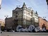 Дома 2-4 по Заячьему переулку и дома 51-53 по Суворовскому проспекту. Фото апрель 2009 г.