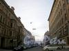 Перспектива переулка Макаренко от набережной реки Фонтанки в сторону Садовой улицы. Ноябрь 2008 г.