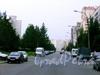 Перспектива Учебного переулка от пр.а Художников в сторону ул. Есенина. Июнь 2009 г.
