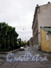 Перспектива Якобштадтского переулка от 13-ой Красноармейской ул. в сторону 11-ой Красноармейской ул. Фото июль 2009 г.