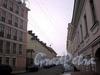 Перспектива Волховского переулка от Биржевого переулка в сторону Тучкова переулка. Фото октябрь 2008 г.
