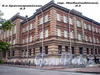 Якобштадтский пер., д.3 / 8-ая Красноармейская ул., д. 3. Здание 2-го городского реального училища. Общий вид здания. Фото июль 2009 г.