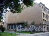 Дерптский пер., д. 8. Бывший доходный дом. Вид здания от Рижского проспекта.. Фото июль 2009 г.