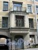 Дерптский пер., д. 8. Бывший доходный дом. Эркер с балконом. Фото июль 2009 г.