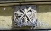 Дерптский пер., д. 10. Бывший доходный дом. Знак Осоавиахима на фасаде здания . Фото июль 2009 г.