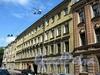 Дерптский пер., д. 10. Бывший доходный дом. Фасад здания. Фото июль 2009 г.