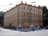 Пер. Лодыгина, д. 1 / Рижский пр., д. 28. Бывший доходный дом. Общий вид здания. Фото июль 2009 г.