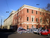 Дом 2 по Лазаретному переулку и дом 6 по улице Введенского канала. Фото ноябрь 2008 г.