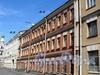 Пер. Лодыгина, д. 4. Здание бывшей фабрики счетных машин. Фасад здания. Фото июль 2009 г.