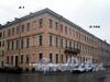 Пер. Матвеева, д. 1 / наб. реки Мойки, д. 104. Общий вид зданий. Фото март 2009 г.