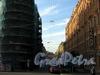 Перспектива Столярного переулка от набережной канала Грибоедова в сторону Казанской улицы. Фото август 2009 г.