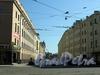 Перспектива Пинского переулка от улицы Чапаева в сторону Петроградской набережной. Фото август 2009 г.