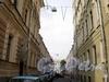 Перспектива Друскеникского переулка от Фурштатской улицы в сторону улицы Чайковского. Фото сентябрь 2009 г.